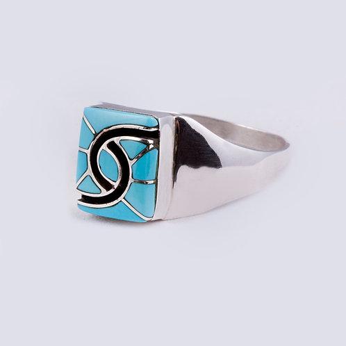 Sterling Zuni Ring RG-0366