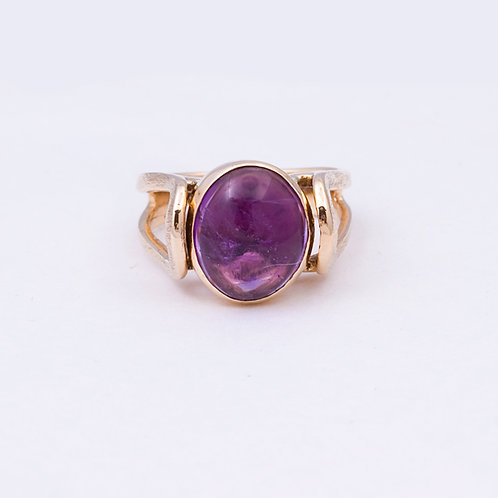 14k Carlos Diaz Amethyst Ring GD-0102