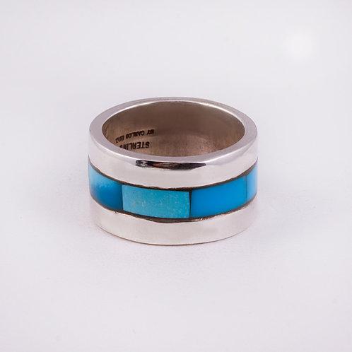 SS CD Charm circle ring RG-0406