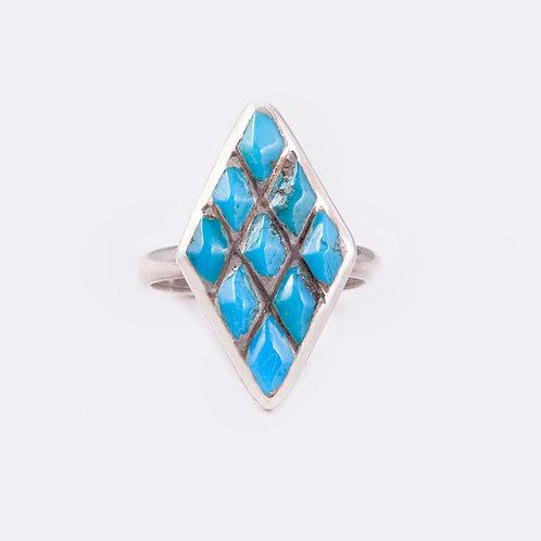 Sterling Zuni Ring RG-0284