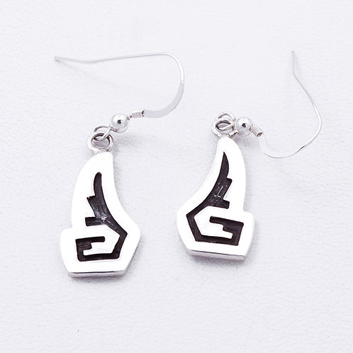 Sterling Hopi Earrings ER-0349