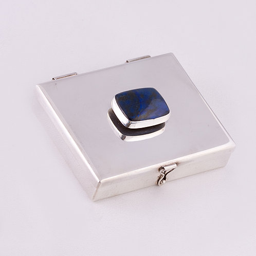 Sterling Silver Carlos Diaz Pill Box MI-0011