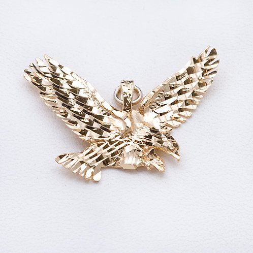 14KT Yellow Gold Eagle GD-0340
