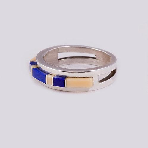 Sterling Silver Zuni Ring RG-0379