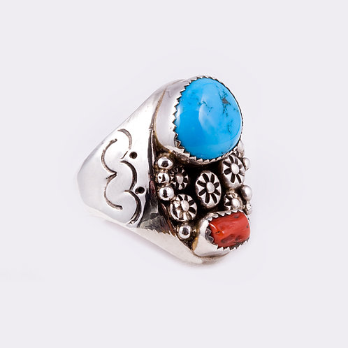Sterling Silver Navajo Ring RG-0317