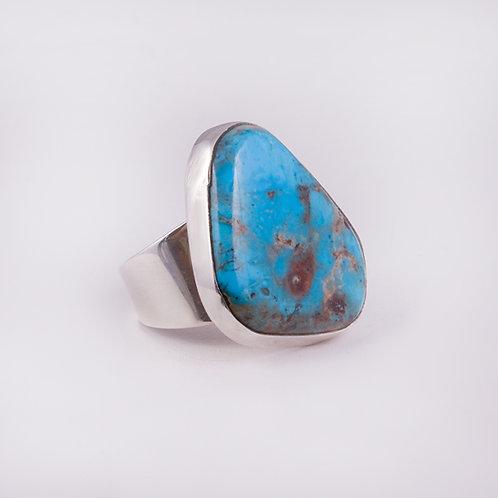 Sterling Silver Carlos Diaz Bisbee Ring RG-0124