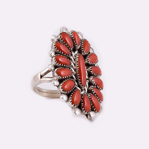 Sterling Silver Zuni Ring RG-0291