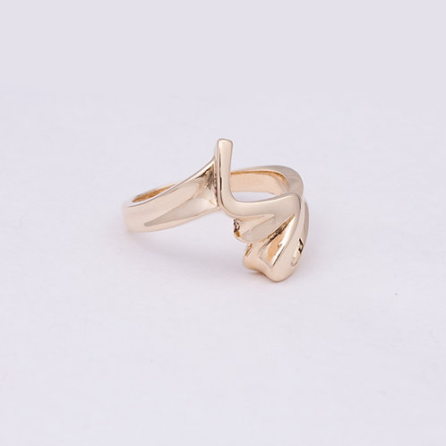 14k free form Ring GD-0159
