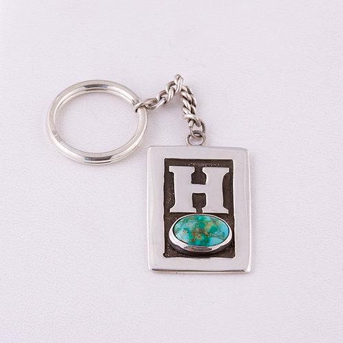 Sterling Silver Carlos Diaz Key Chain MI-0019