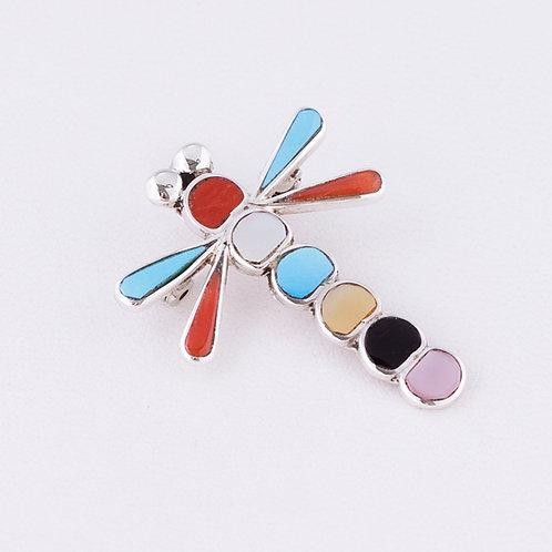 Dragonfly pin/pendant MI-0175