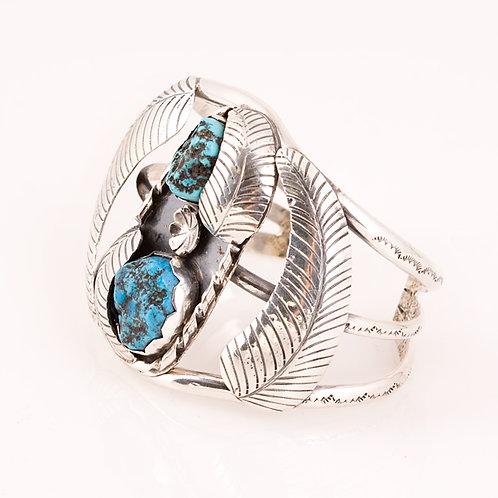 Consignment Navajo Kingman Turq Bracelet CC-0167