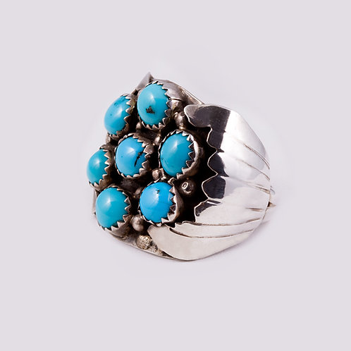 Sterling Silver Navajo Ring RG-0312