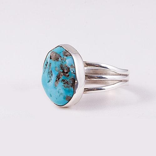 Carlos Diaz Sterling Silver Turquoise RingRG-0246