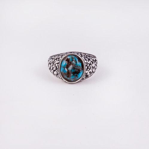 Sterling Carlos Diaz Textured Ring RG-0155