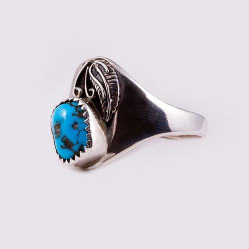 Sterling Silver Navajo Ring RG-0306