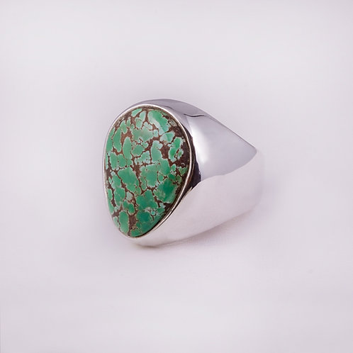 Sterling Carlos Diaz Turquoise ring RG-0130
