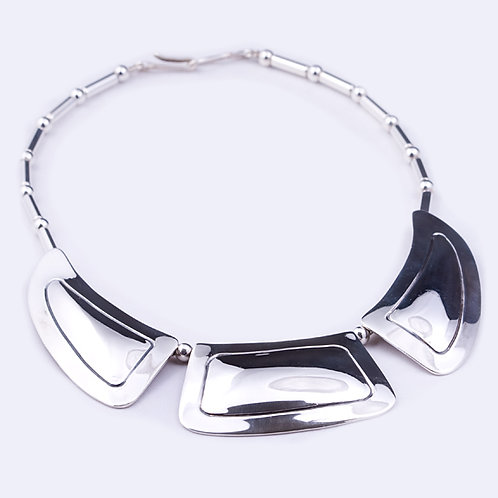 Carlos Diaz Sterling Chassed Neck NK-0071