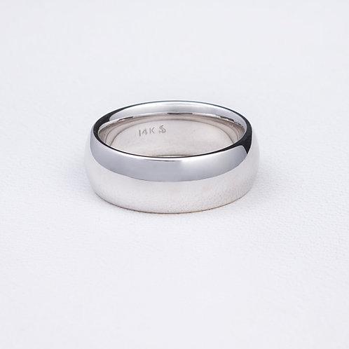 14 KT White Gold Ring RG-0226