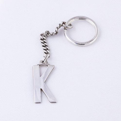 Sterling Silver Carlos Diaz Key Chain MI-0030