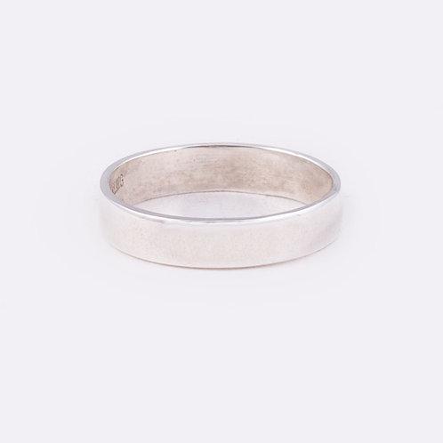 Sterling Flat Ring RG-0332