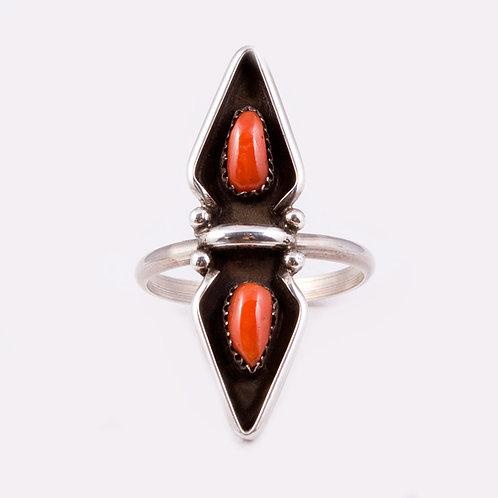 Sterling Zuni Ring  RG-0275
