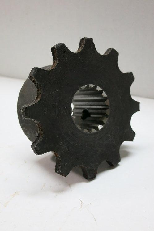 """(SPR-3225) 12 Tooth Sprocket with 15 Spline, 1"""" Bore"""