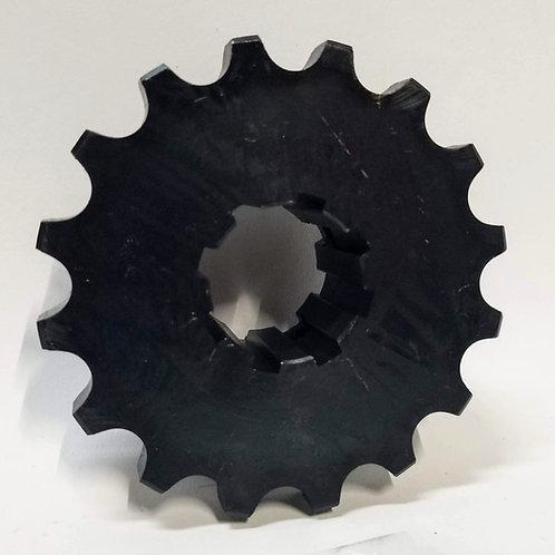 """(SPR-3232A) 16 Tooth Sprocket with 8 Spline, 1-3/8"""" Bore"""