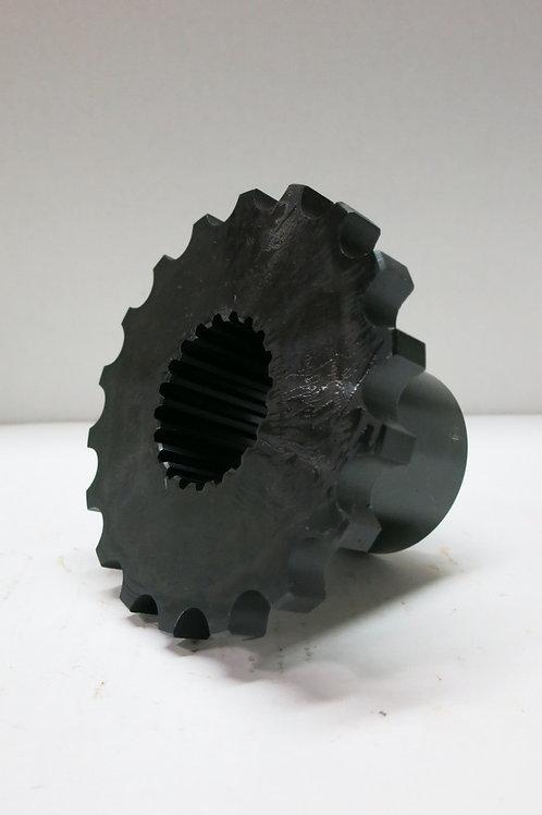 """(SPR-3221) 18 Tooth Sprocket with 20 Spline, 1-3/4"""" Bore"""