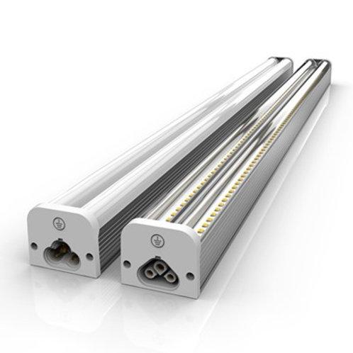 40 Watt T5 Double-Row LED Fixture - Clear