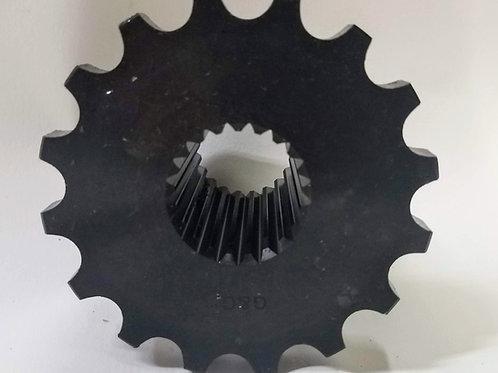 """(SPR-3224A) 16 Tooth Sprocket with 21 Spline, 1-3/8"""" Bore"""