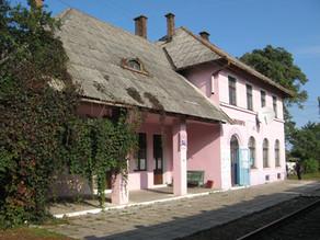 Budynek dworca kolejowego w Niżankowicach