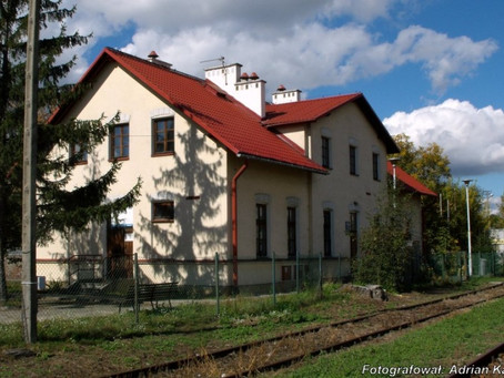 Budynek dworca kolejowego Przemyśl-Bakonczyce