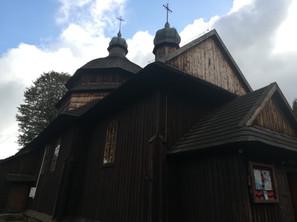 Drewniana cerkiew Narodzenia Najświętszej Marii Panny w Krościenku