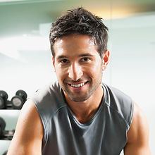 Trainer with Grey Top