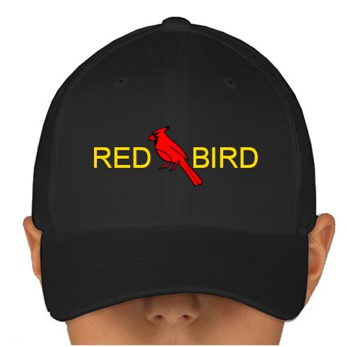 Black Red Bird Hat