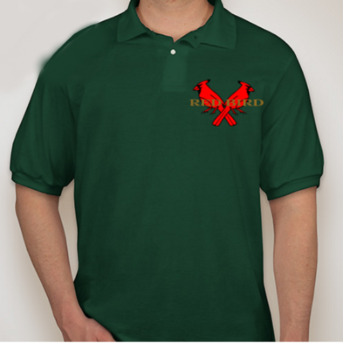 Double Bird Green Polo