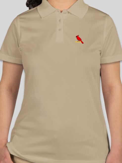 Red Bird Women's Polo Shirts