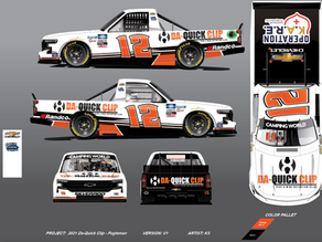 DA-Quick Clip™ to sponsor Tate Fogleman for two NASCAR Camping World Truck Series races