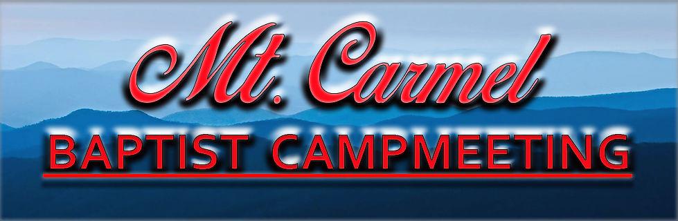 Mt. Carmel Baptist Campmeeting