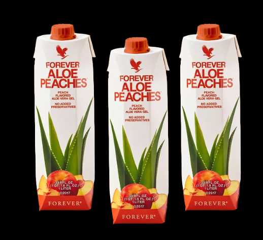 Forever Aloe Peaches -  Jus de fruit naturel à la pêche