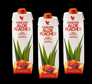 Forever Aloe Peaches -  Jus de fruit naturel à la pêche