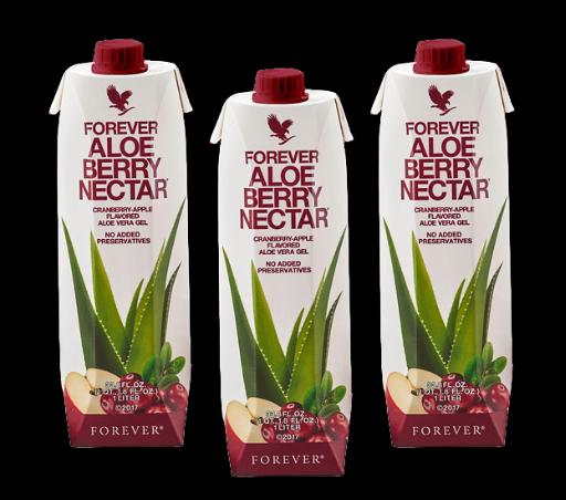 Aloe Nectar Berry Tripack