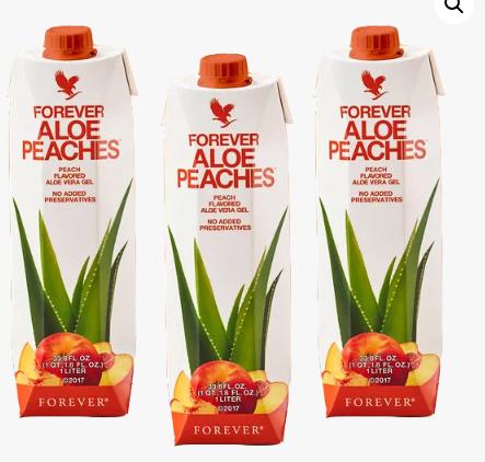 Forever Aloe Pêche Tripack Aloe Vera Passion
