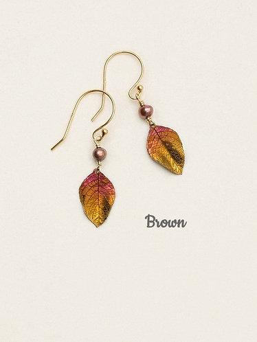 Healing Leaf Earring