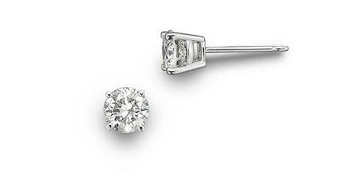 Diamond Stud Earrings TW=.32
