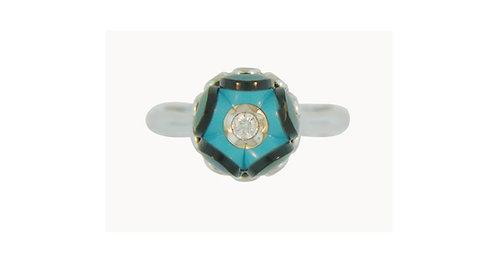 14k Gold Designer Ring (Galatea)