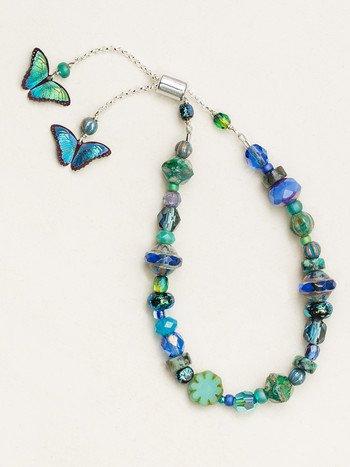 Bindi Butterfly Beaded Bracelet