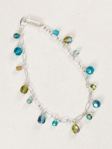 Green Confetti Bracelet