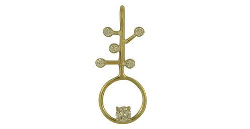 Eternity Plus Diamond Pendant