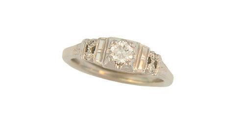 Vintage-Inspired Diamond Ring